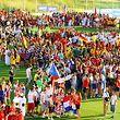 """Bei den """"United World Games"""" trafen 7.000 junge Athleten aus 40 Nationen zusammen."""