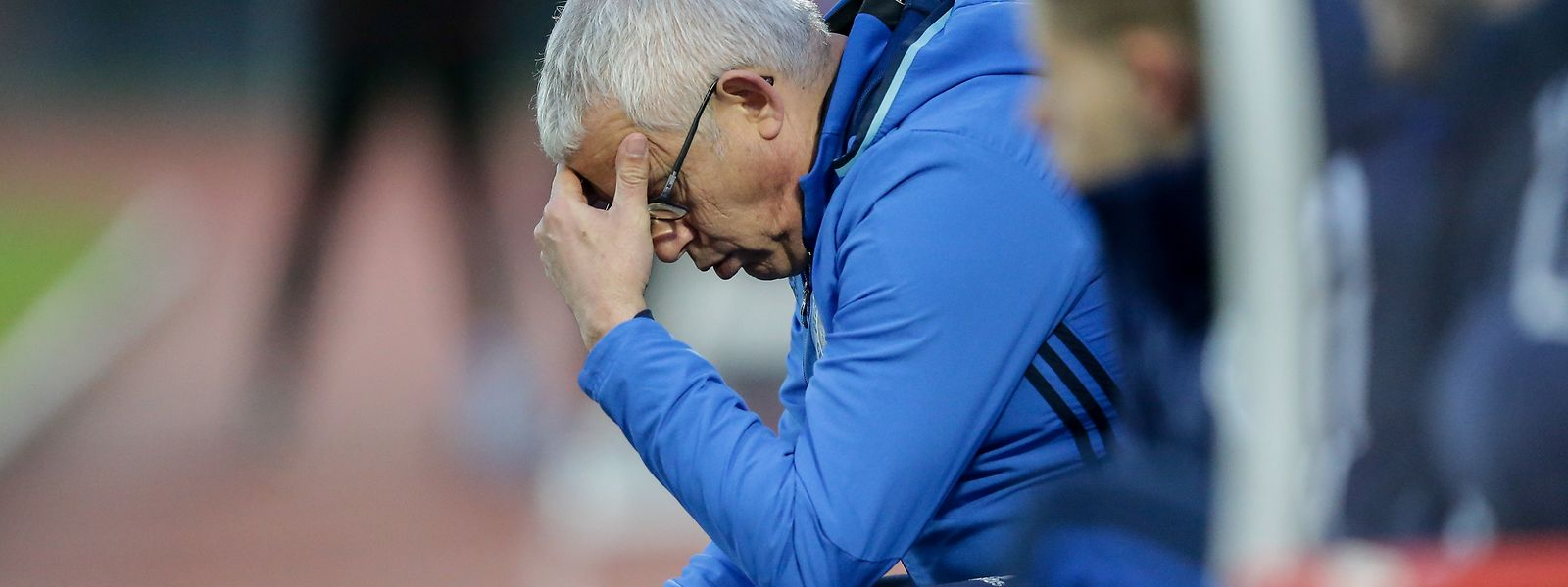 Manuel Peixoto verlässt Grevenmacher nach dem Auftaktspiel.