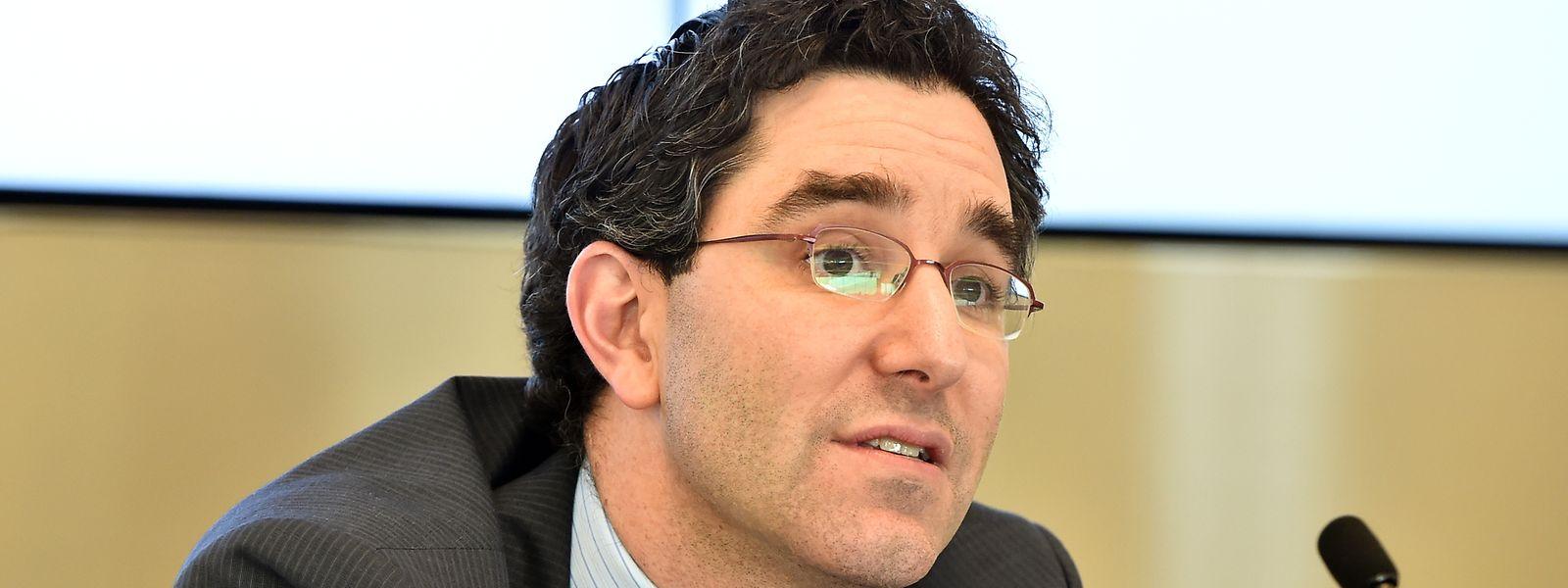 Itai Grinberg, professeur de droit à la Georgetown University (Washington D.C.)