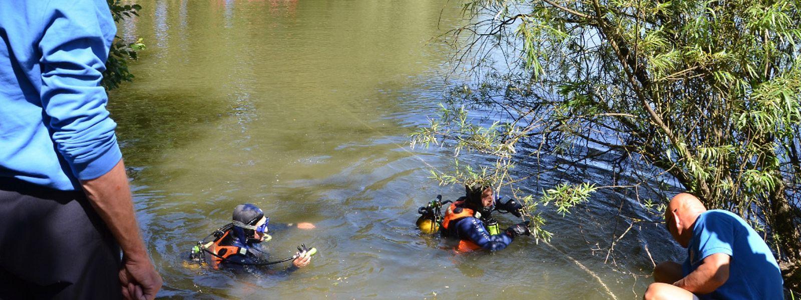 Fünf Wochen lang suchten Polizei und Rettungstaucher den Weiher in Linger nach der Leiche der vermissten Bianka ab. Doch die Suche verlief, genau wie das Abpumpen des Wassers, ergebnislos.