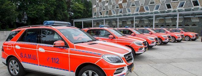 Die Innenausstattung der sechs Mercedes-Benz ML 350 BlueTEC ist an den neusten Stand der Technik angepasst.