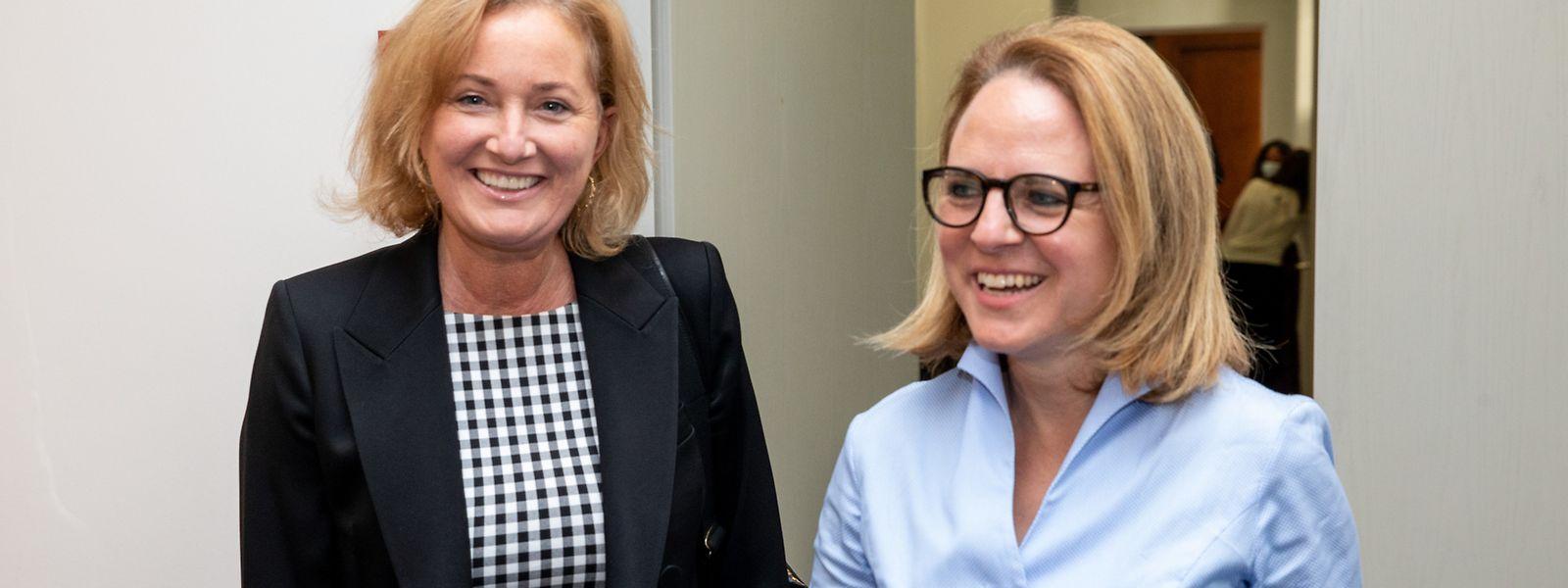 Familienministerin Corinne Cahen und Gesundheitsministerin Paulette Lenert stellten am Mittwoch die angepassten Empfehlungen für die Alters- und Pflegeheime vor. Die Regeln gelten vorerst bis zum 18. Oktober.