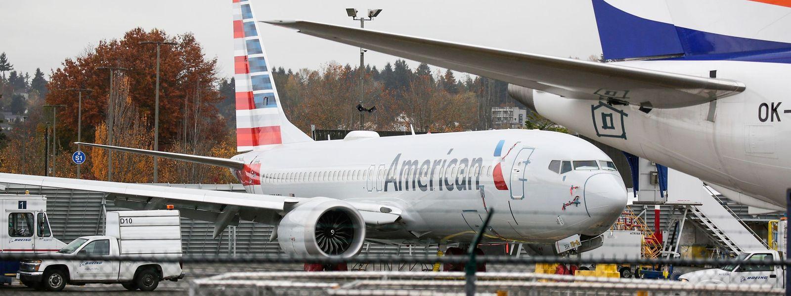 Die Maschinen vom Typ Boeing 737 Max waren seit März 2019 nicht mehr in der Luft.
