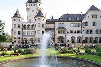 Réception jeudi soir au château Colmar-Berg.