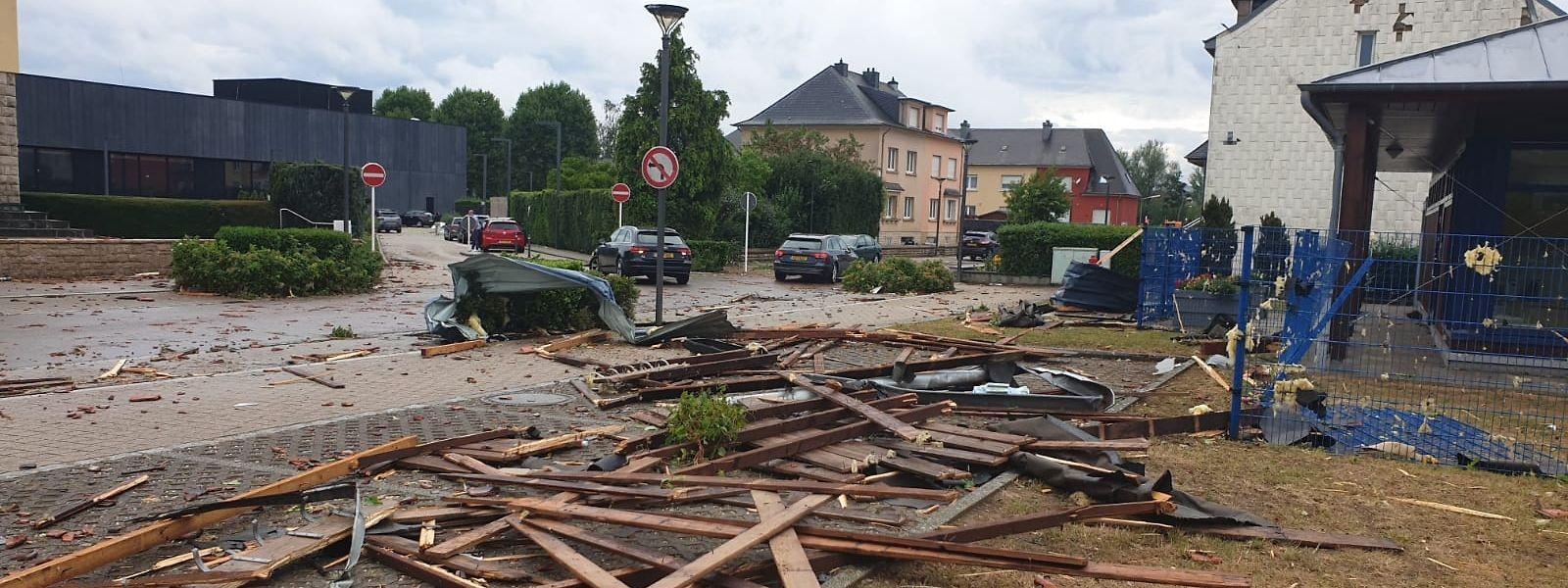 Der Tornado in Petingen war das Thema des Jahres
