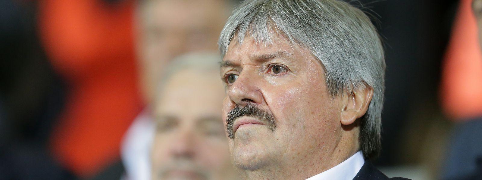 Paul Philipp, presidente da Federação Luxemburguesa de Futebol.
