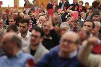 IPO - LSAP - Congrès extraordinaire- Kongress, Strassen, foto: Chris Karaba/Luxemburger Wort