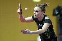 Sarah de Nutte (Ettelbrueck)/ Tischtennis, Tennis de table / 16.02.2020 /Nationale Meisterschaften 2020 - Audi Championnats Individuels / d'Coque - Gymnase, Luxembourg /Foto: Ben Majerus