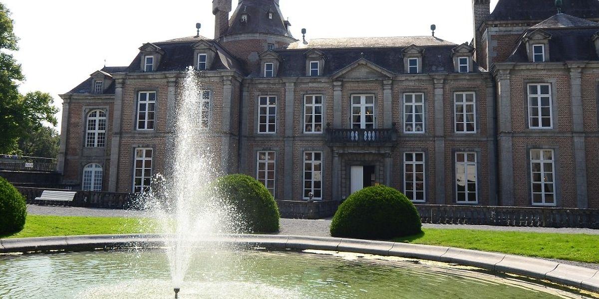 Das Schloss von Modave nahe Huy.
