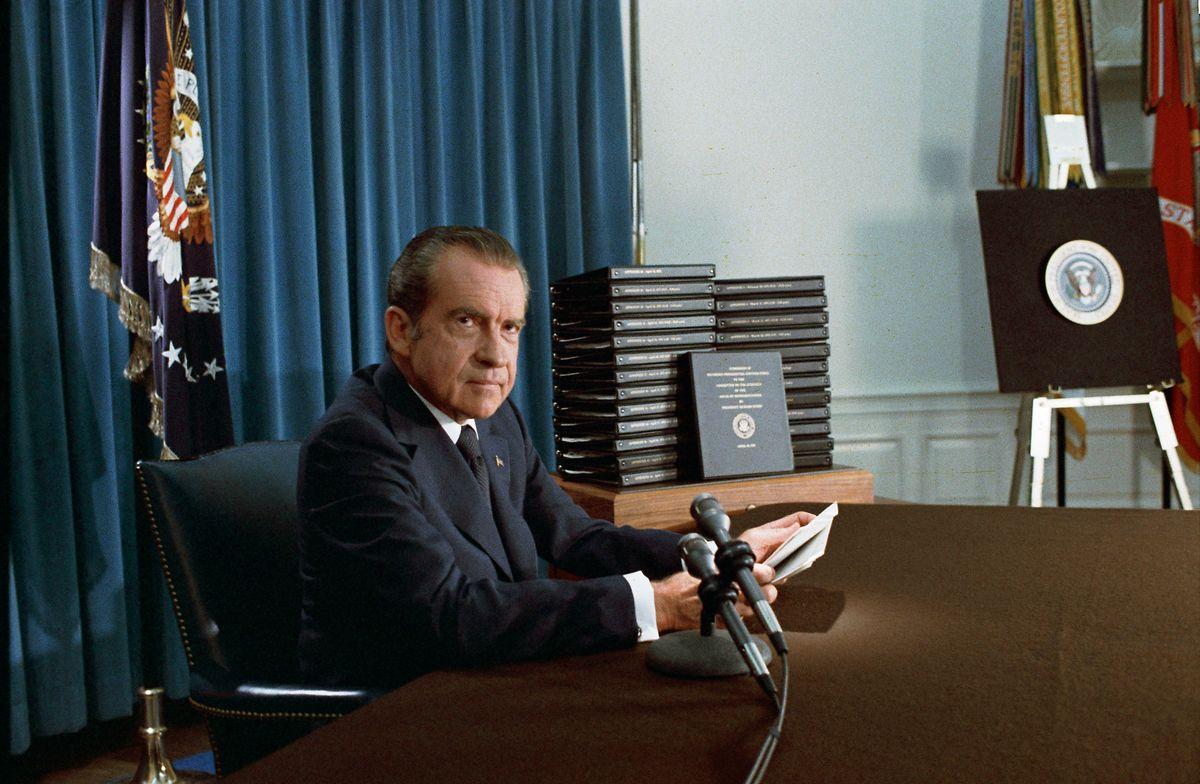 Nixon oder nicht? Donald Trumps Vorgehen erinnert an den Vertuschungsversuch des Watergate-Skandals durch seinen Amtsvorgänger. Doch der Fall liegt wieder anders.