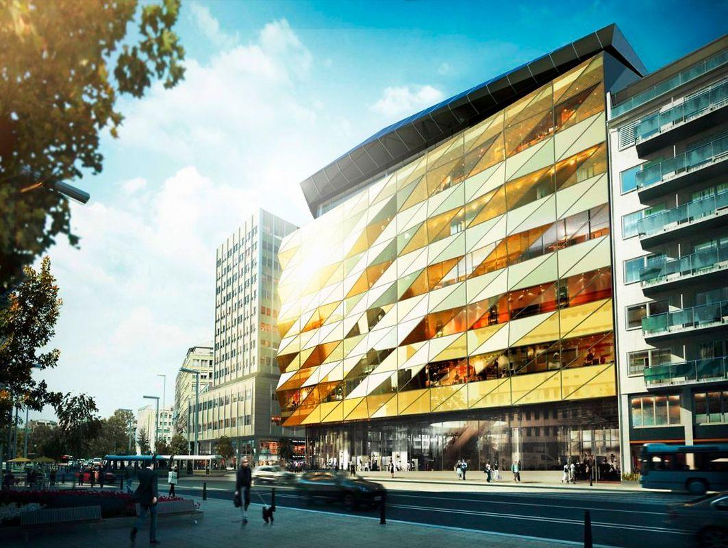 So soll das neue Einkaufszentrum in rund fünf Jahren aussehen.