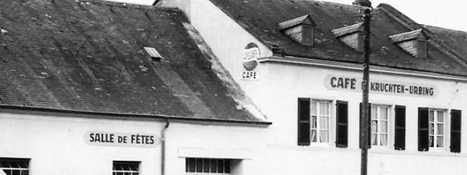 Das Café Kruchten-Urbing kurz nach seiner Eröffnung Mitte der 1950er-Jahre.