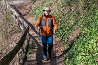 Lok , Wanderer Serge Gaffiné , Foto.Guy Jallay/Luxemburger Wort