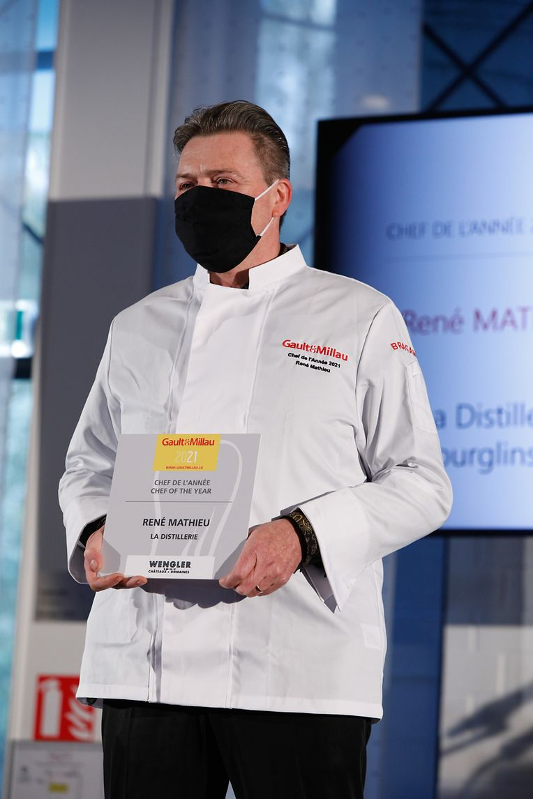 """Koch des Jahres: René Mathieu (""""La Distillerie"""")"""