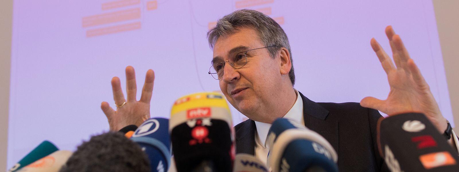 Andreas Mundt, Präsident des Bundeskartellamts, misst dem Streit mit Facebook grundlegende Bedeutung bei.