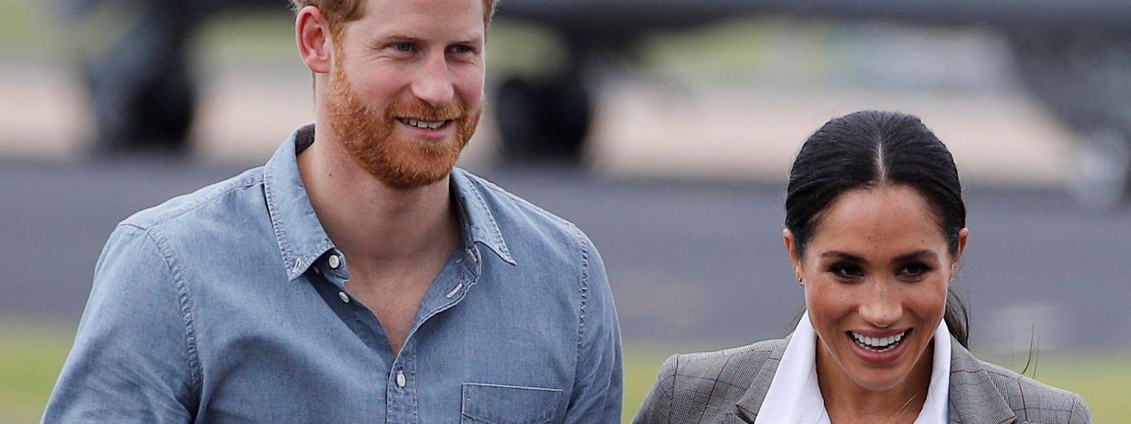 Prinz Harry und Herzogin Meghan sind gemeinsam als Royals auf Instagram.