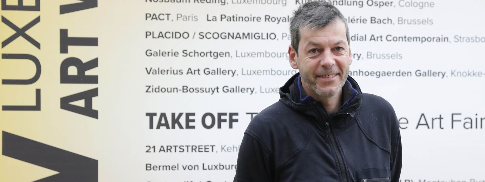 """Alex Reding ist der tatendurstige Mastermind hinter dem Projekt """"Luxembourg Art Week""""."""