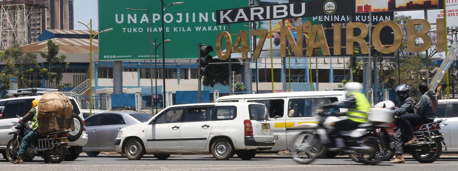 Nairobi ist seit vielen Jahren das unbestrittene Wirtschaftszentrum in Ostafrika.