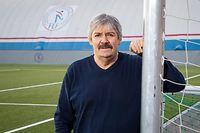 WO fr , Monnerich , ITV Paul Philipp , Presdeint Federation Luxembourgeoise de Football , FLF , Foto: Guy Jallay/Luxemburger Wort