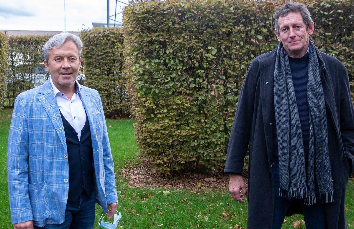 Christian Faber (links) und Denis Mees haben auch ein halbes Jahrhundert nach den Ereignissen noch mit dem Missbrauch zu kämpfen.