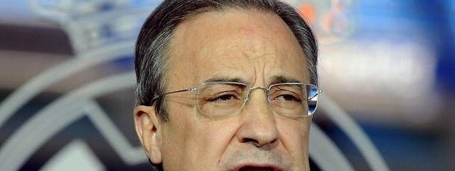 Florentino Perez elogiou Cristiano Ronaldo, colocando-o a par das maiores figuras da história do clube.
