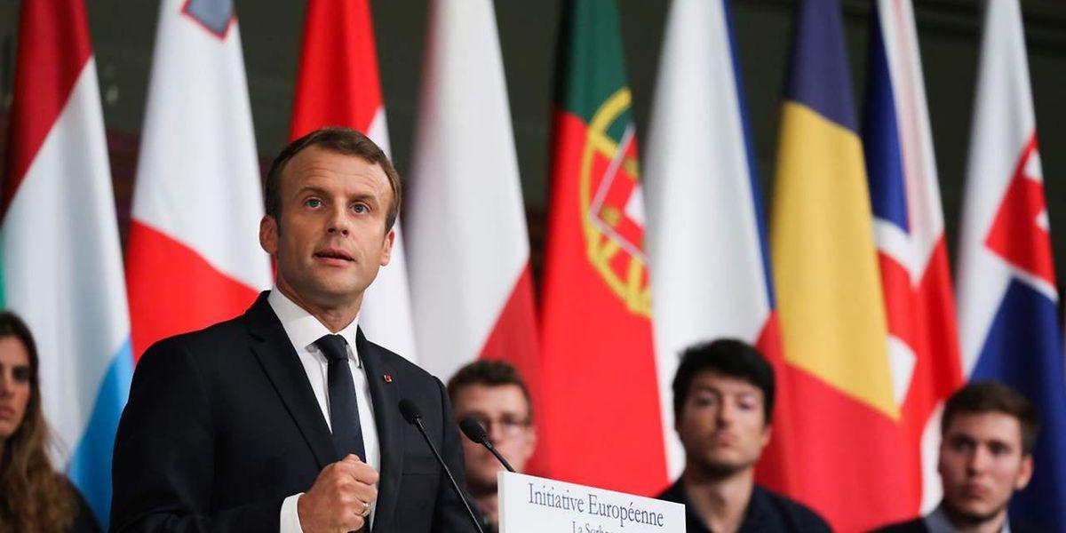 Emmanuel Macron doit présenter mardi ses propositions pour refonder l'Europe, avec des «mesures emblématiques» et des chantiers de réforme qui devront entraîner l'adhésion de ses partenaires européens
