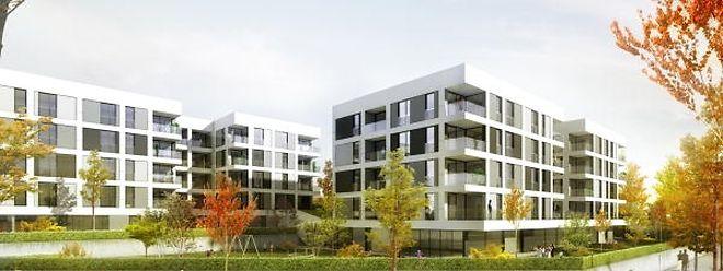 6.500 logements supplémentaires bientôt au Kirchberg.