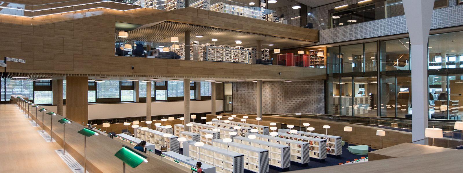 Die neue Nationalbibliothek (u..) bietet die große Bühne für die neue Leitung – noch läuft aber der Bewerbungsprozess für den nicht einfachen Direktionsposten.