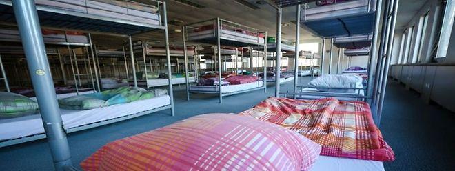 Für 180 Personen gibt es in Findel einen Schlafplatz.