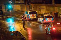 Unter anderem beim Tunnel Gluck wurden in der Nacht zum Sonntag in der Hauptstadt Kontrollen durchgeführt.