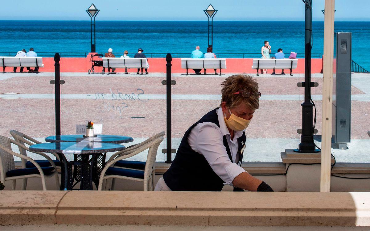 En Allemagne, certains hôtels dans des zones touristiques pourront ouvrir ce lundi, comme ici sur l'île de Ruegen