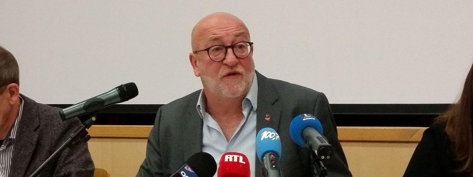 André Roeltgen, président de l'OGBL.