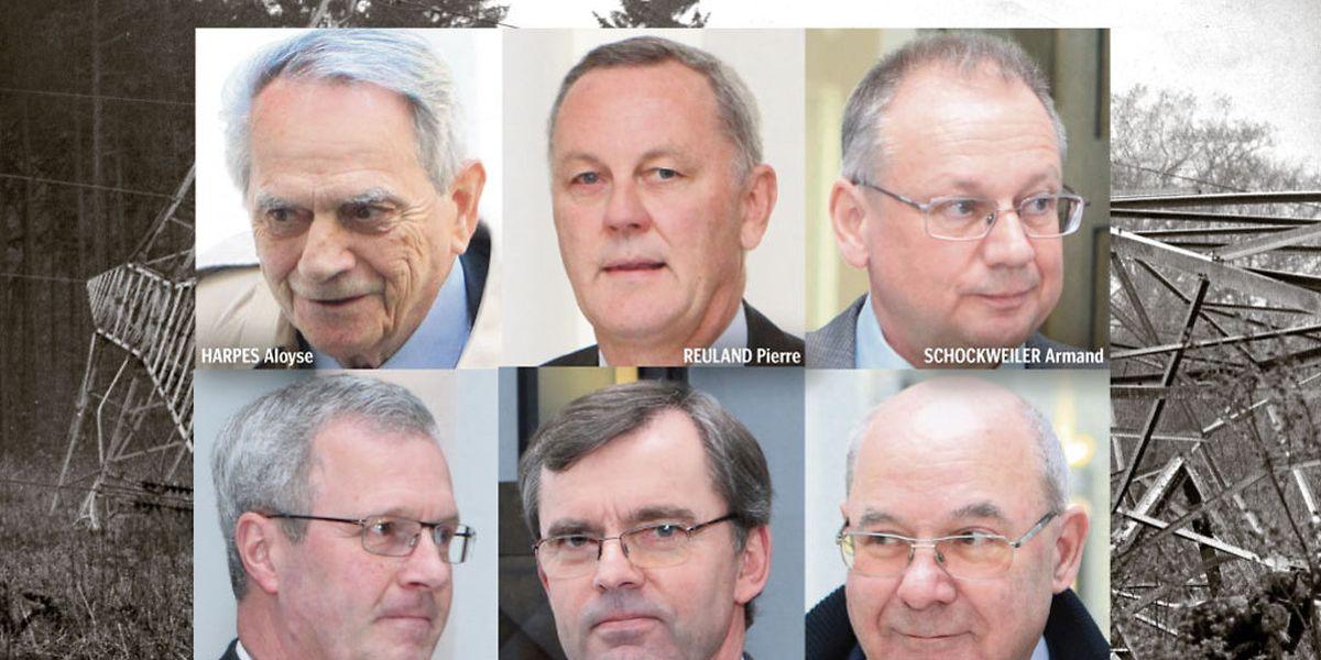 Reuland, Harpes, Stebens, Schockweiler, Weydert und Bourg gerieten vergangene Woche arg in Bedrängnis.