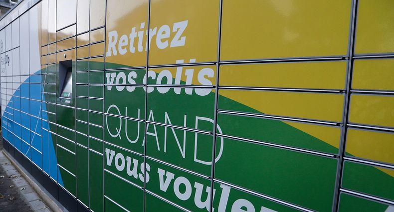 Lokales, Packup-Stationen ,Post , Päcke bestellen und liefern lassen in eine Packup-Station, Merl rue Yolande,   Foto: Luxemburger Wort/Anouk Antony