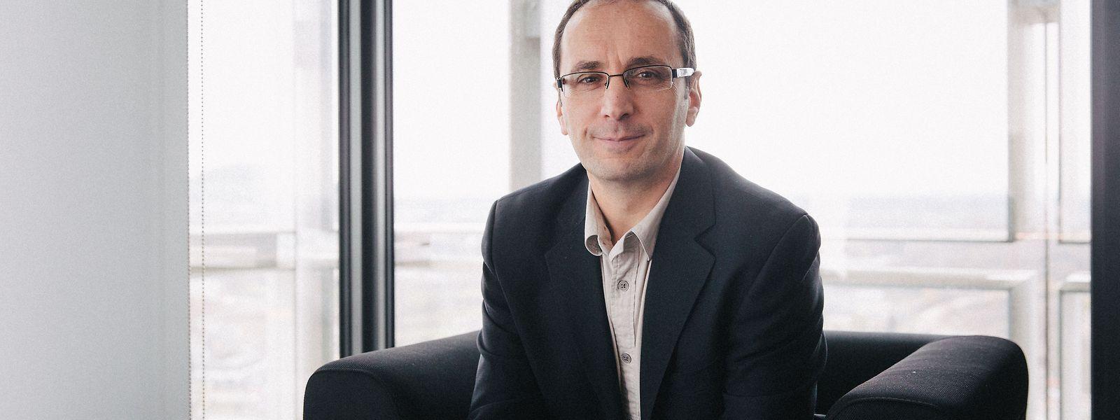 Jean-Marc Schlenker, seit Oktober 2018 Dekan der Fakultät für Natur- und Technikwissenschaften (FSTC).