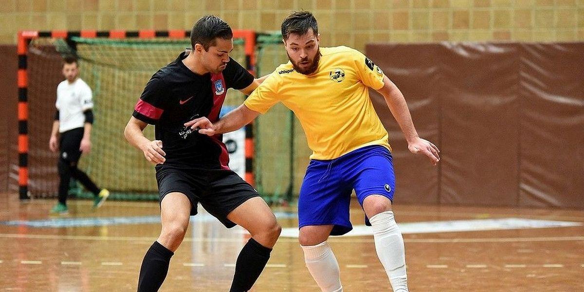 Ricardo Soares et le Samba 7 ALSS Futsal Niederkorn ont eu du mal à se défaire de Nordstad, la formation de Ricardo Monteiro.