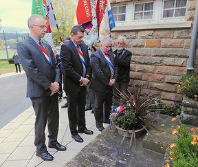 Gedenkfeier an die Opfer des zweiten Weltkrieges