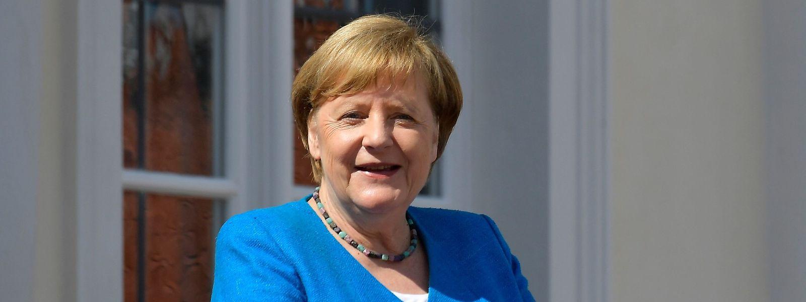 Die deutsche Kanzlerin Angela Merkel feiert am Freitag ihren 66. Geburtstag.
