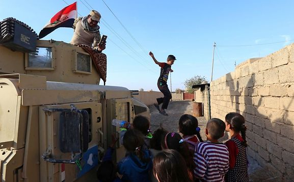 Iraqi forces retake ancient city of Nimrud