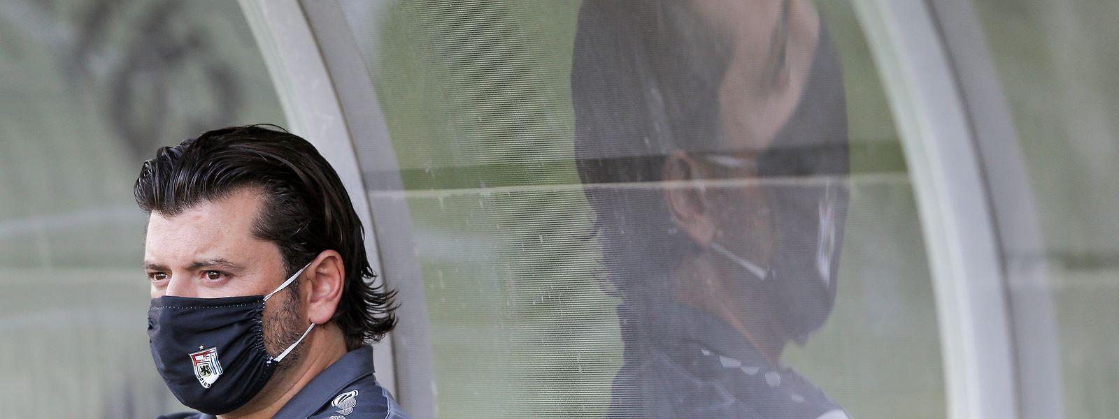 Trainer Carlos Fangueiro hat bei F91 zurzeit keinen Grund zum Klagen.