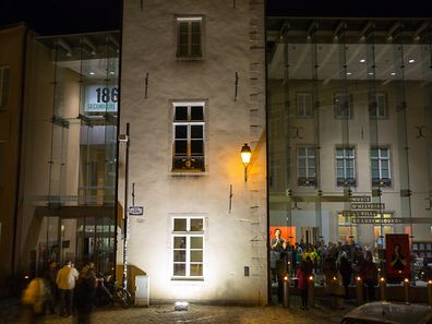 Nuit des Musées / Luxembourg-Centre et Luxembourg-Kirchberg / 08.10.2016b/ Musee Histoire VDL / Aussenansicht