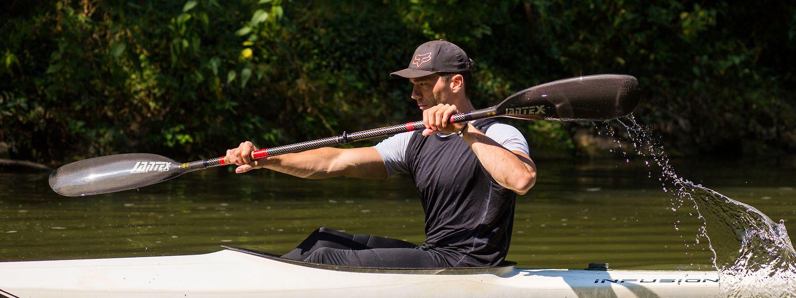 Marc Seidel trainiert fast immer nahe der Gantenbeinsmillen.