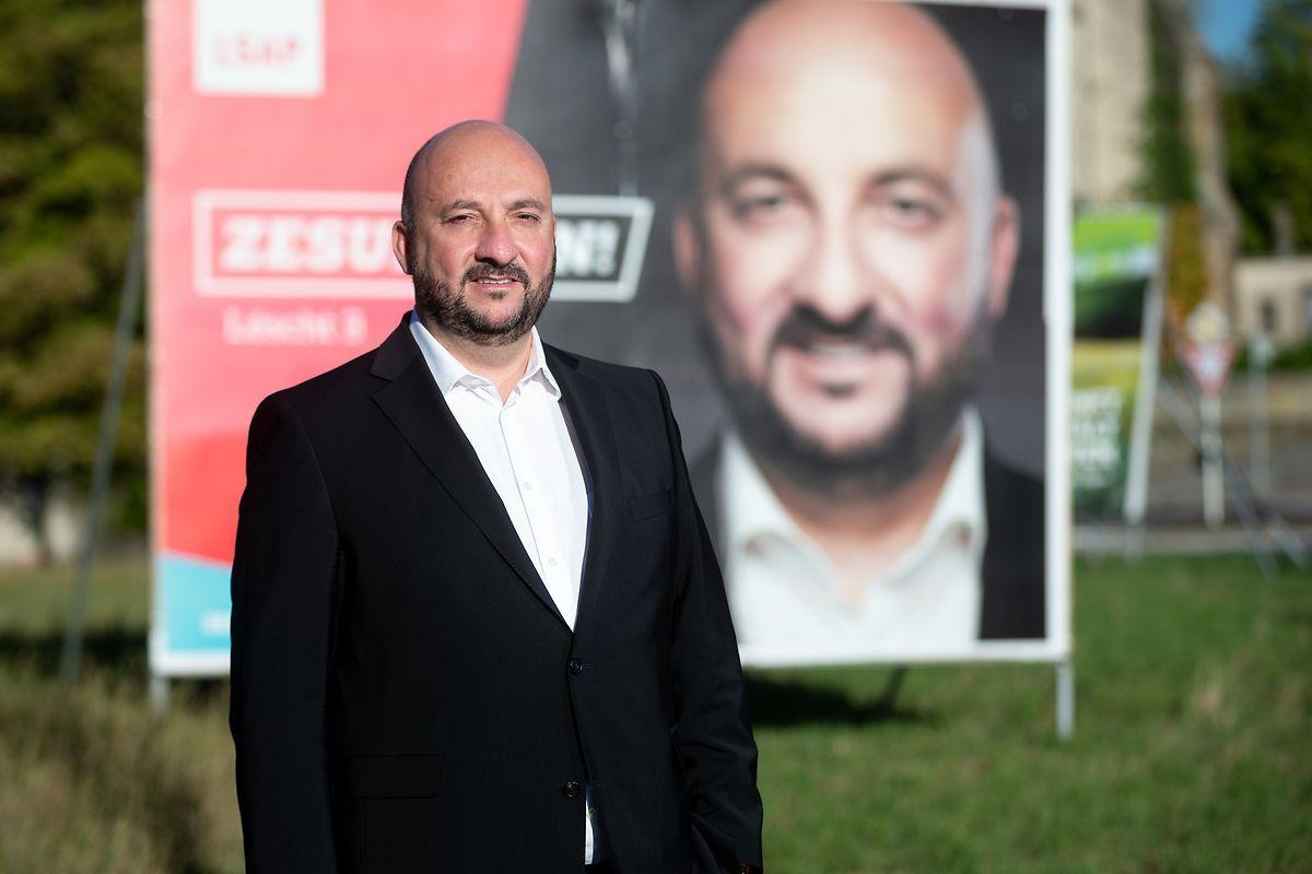 Der LSAP-Spitzenkandidat Etienne Schneider polarisiert wie kein anderer Spitzenkandidat.