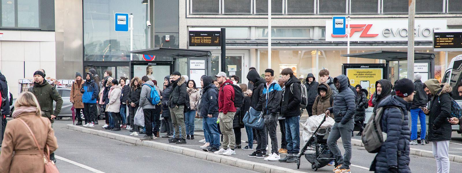 Das Luxemburger Tarifnetz galt bislang auch in einigen grenznahen Orten. Mit dem kostenlosen Nahverkehr ist diese Sonderregelung aber nun passé – das Gratis-Angebot endet an der Grenze.
