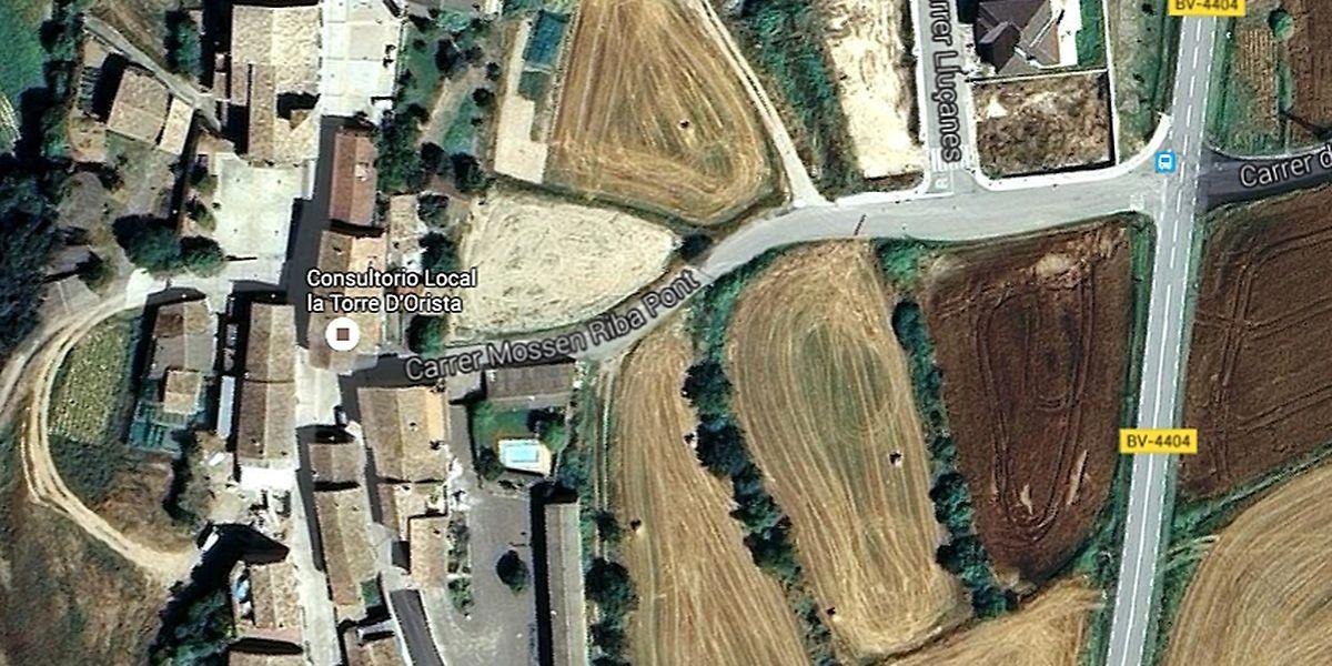Die kleine Ortschaft Torre d'Oristà liegt im Nordosten Spaniens und gilt nicht unbedingt als Touristenmagnet.