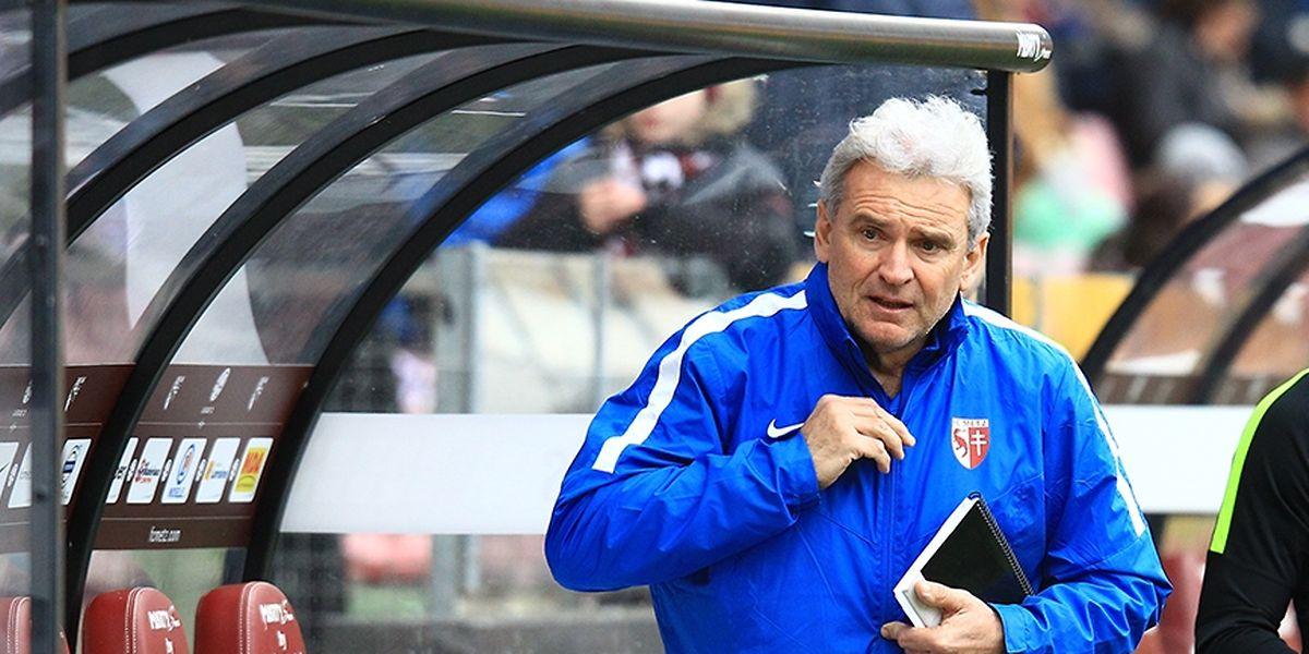 Pour Gilles Bourges, le FC Metz ne doit en aucun cas se relâcher dans sa course pour le maintien en fin de saison.