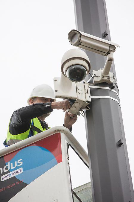 Derzeit sind 14 weitere Überwachungskameras vorgesehen.
