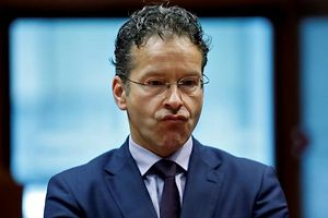 Dutch Finance Minister and Eurogroup President Jeroen Dijsselbloem reacts during a European Union finance ministers meeting in Brussels, Belgium, July 12, 2016. REUTERS/Francois Lenoir