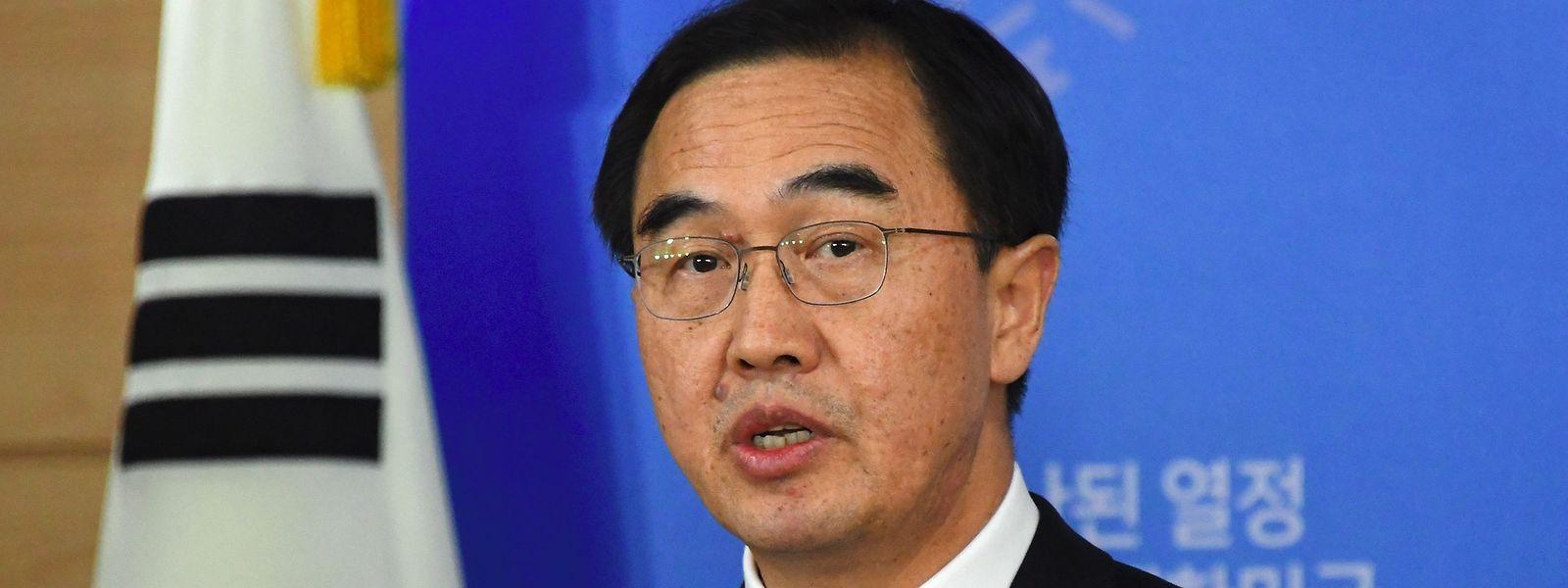 Südkoreas Verteidigungsminister Cho Myoung Gyon.