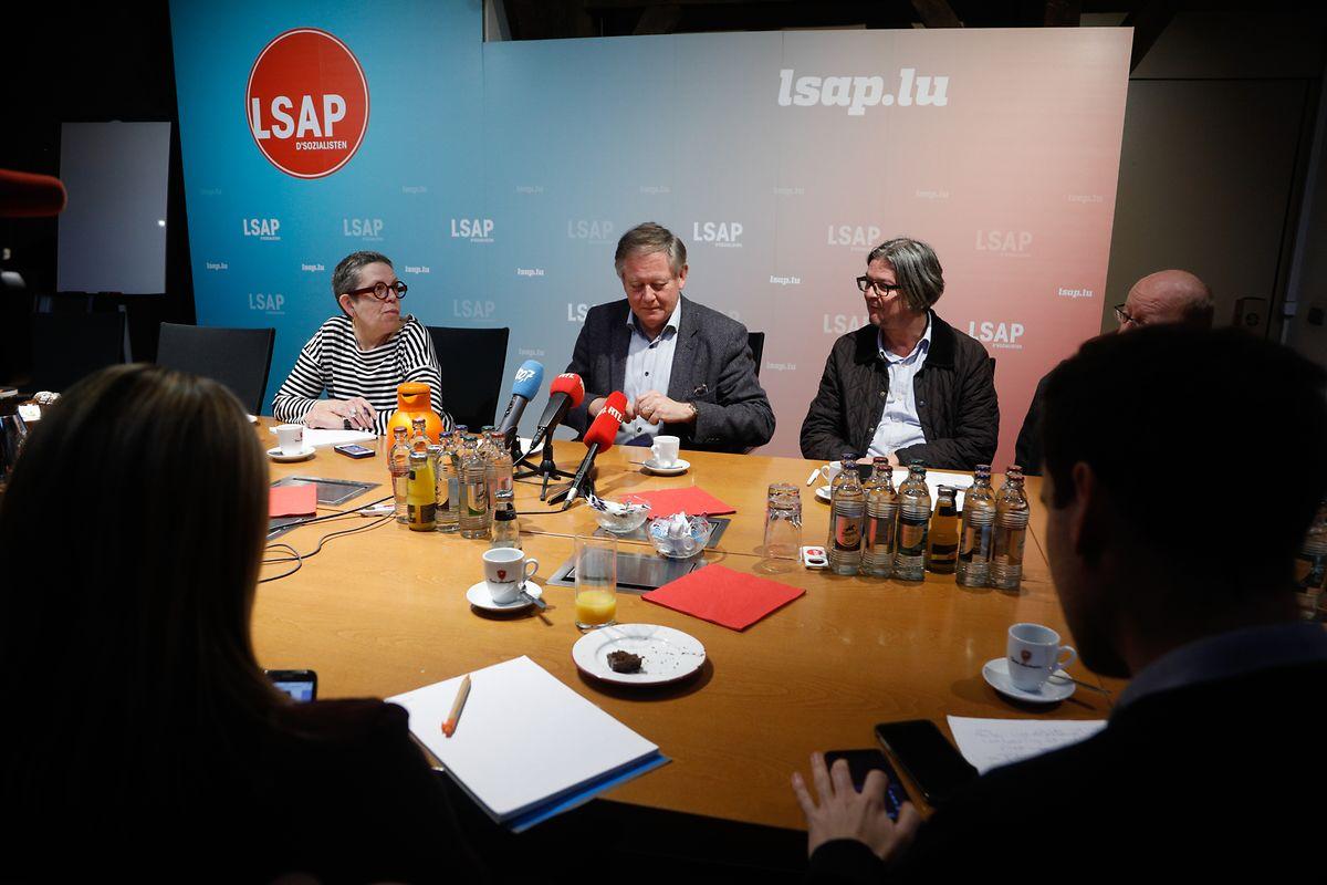 Alex Bodry bei seiner Abschiedspressekonferenz. Mit dem LSAP-Politiker verliert das Parlament eines seiner profiliertesten Gesichter.